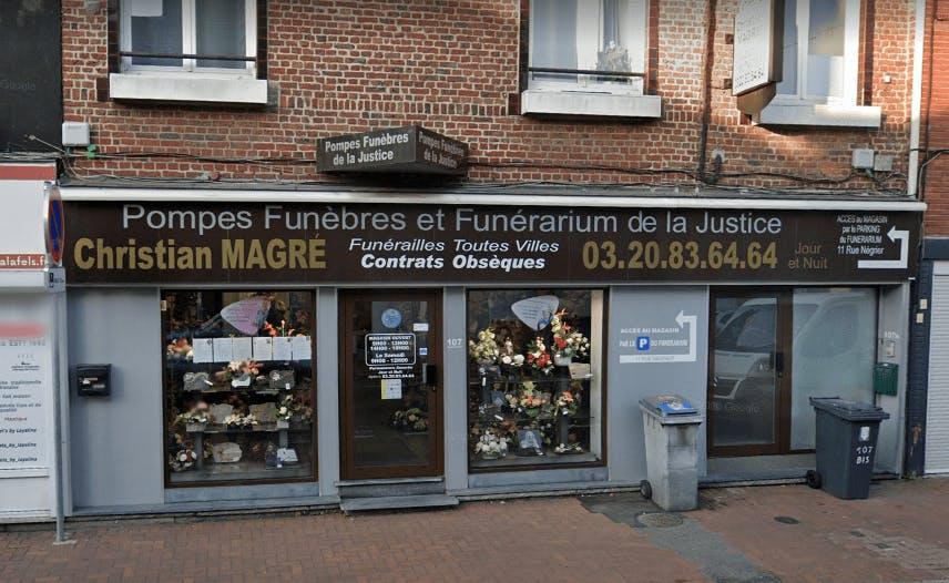 Photographie Pompes Funèbres De La Justice de Lys-lez-Lannoy