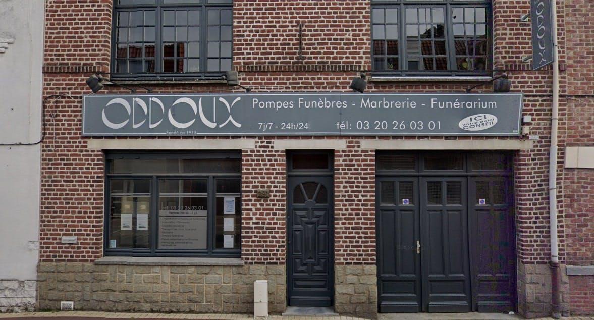 Photographies des Pompes Funebres Odoux à Tourcoing