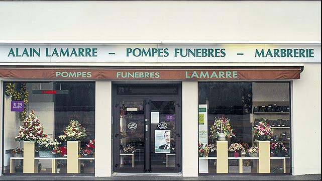 Photographie Pompes Funèbres et Marbrerie Lamarre Soissons
