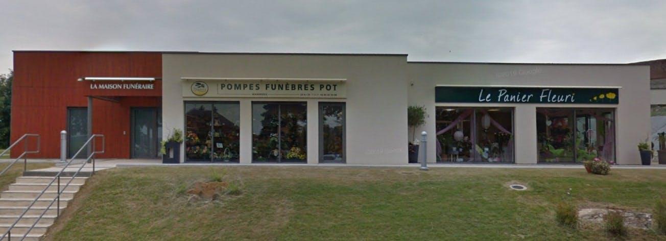Photographies des Pompes Funèbres et Marbrerie Pot à Saint-Sauveur-en-Puisaye