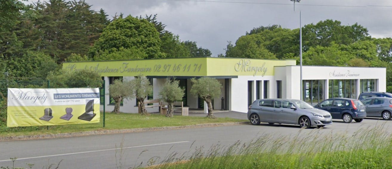 Photographies des Pompes Funèbres Assistance Funéraire Margely à Vannes