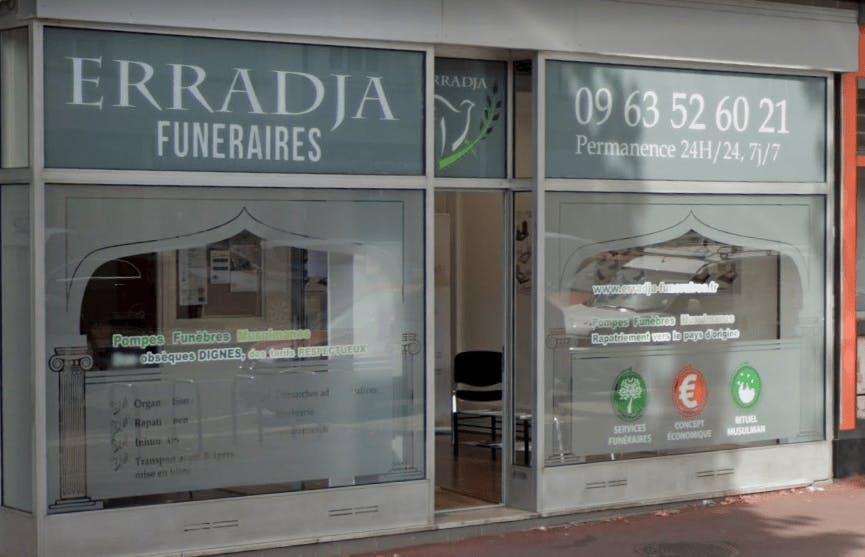 Photographie Pompes funèbres ERRADJA FUNERAIRES  de Rouen