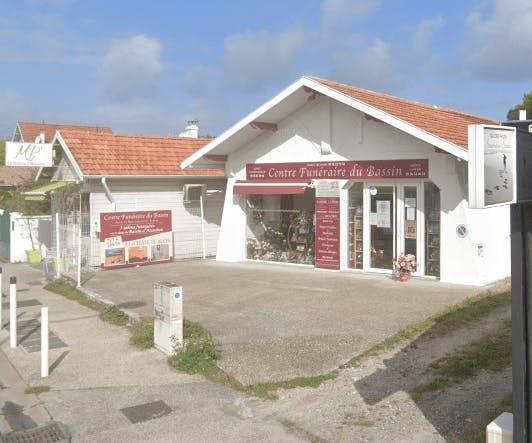 Photographie de la Centre Funéraire du Bassin à Gujan-Mestras