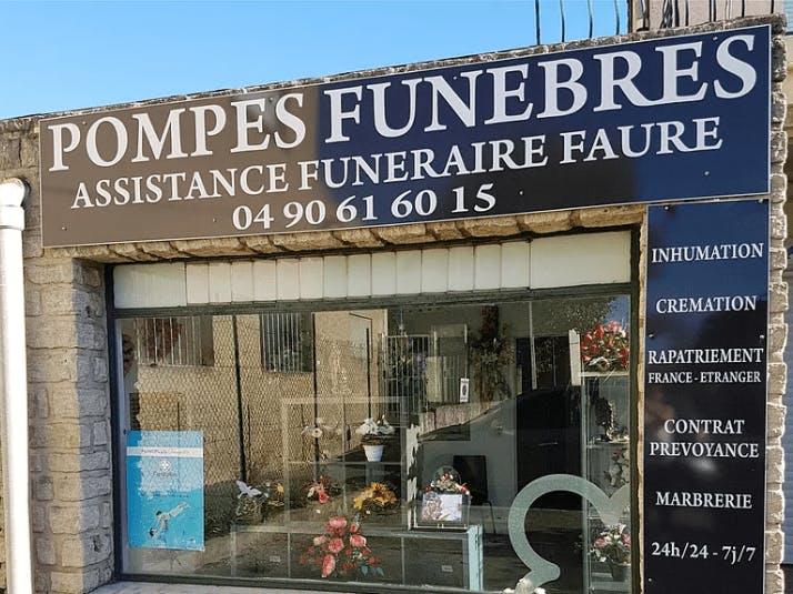 Photographie de l'Assistance funéraire Faure à Carpentras