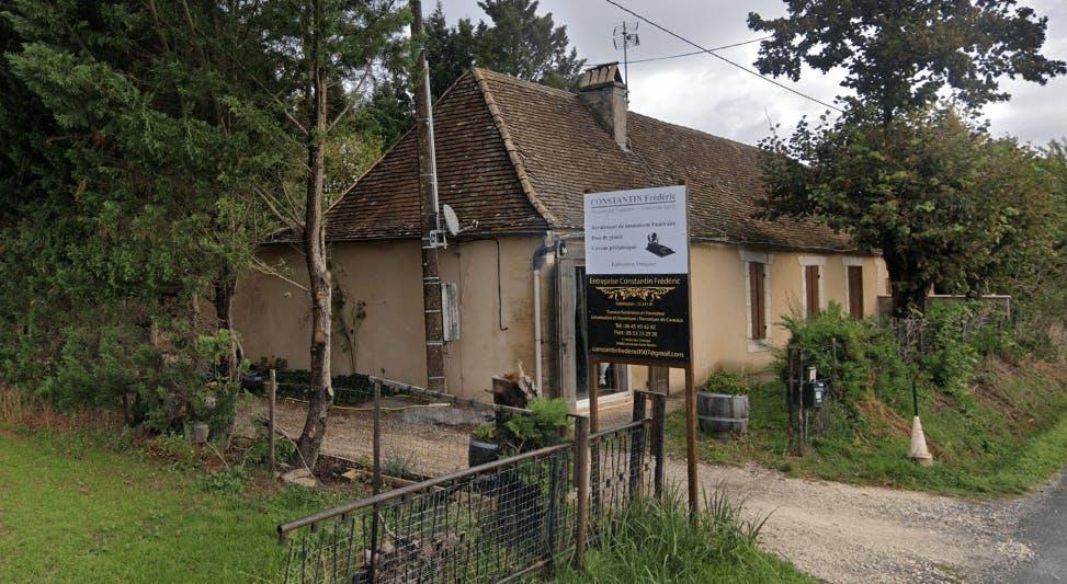 Photographie de la Marbrerie Frédéric Constantin de la ville de Lamonzie-Saint-Martin