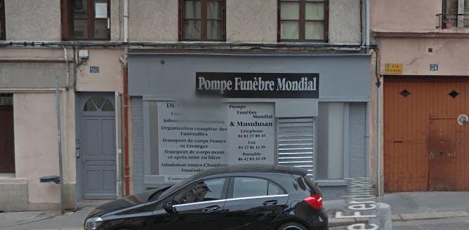 Photographie de la Pompes Funèbres Mondiales à Saint-Etienne