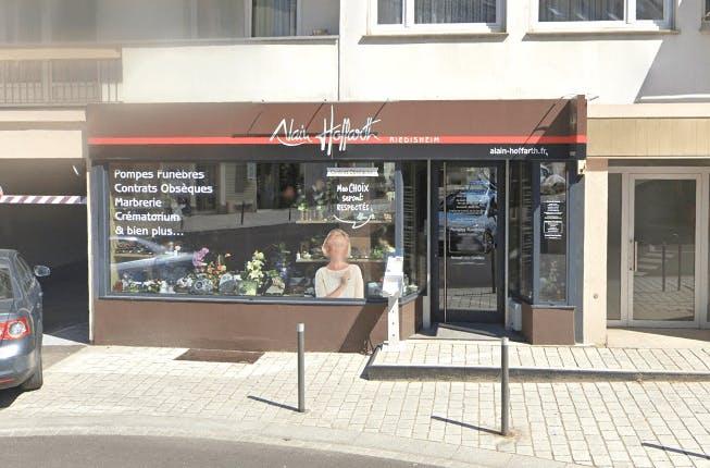 Photographie de la Pompes Funèbres Alain Hoffarth à Riedisheim