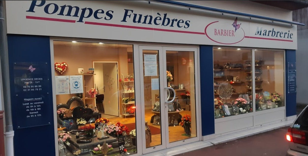 Photographies des Pompes Funèbres Barbier à Potigny