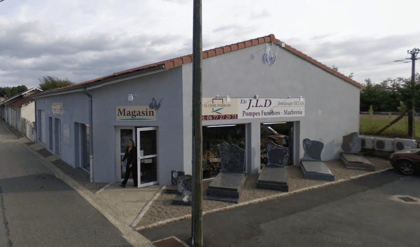 Photographie de la Pompes Funèbres et Marbrerie JLD à Balbigny