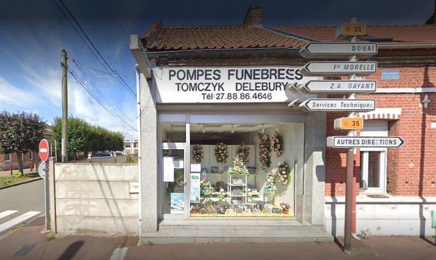 Photographies des Pompes Funebres Tomczyk Delebur à Waziers