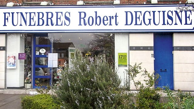 Photographies des Pompes Funèbres Marbrerie Robert Degusine à Tourcoing