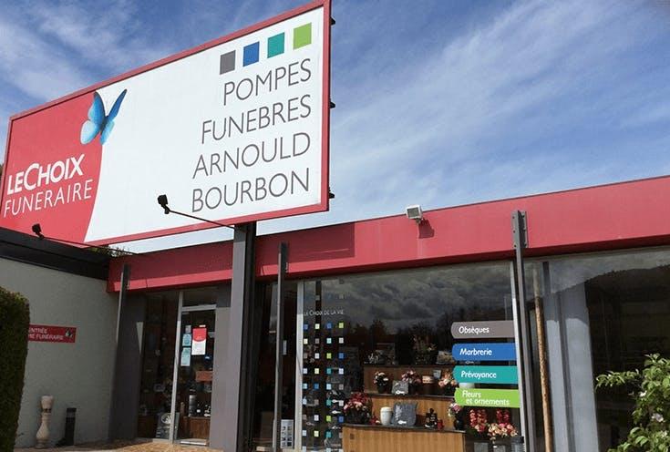 Photographie Pompes Funèbres ARNOULD BOURBON de Saint-Nabord