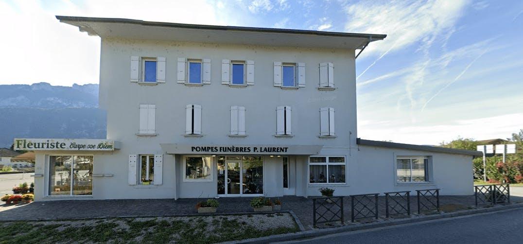 Photographie de la Pompes Funèbres P. Laurent de la ville de Saint-Pierre-en-Faucigny