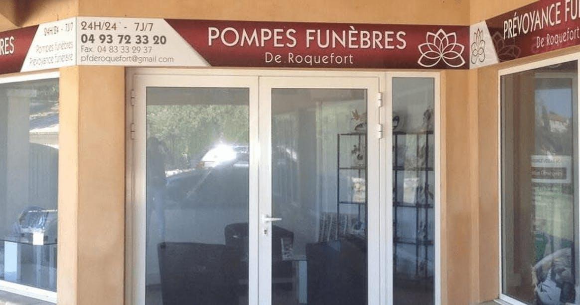 Photographie Pompes Funèbres De Roquefort de Roquefort-les-Pins