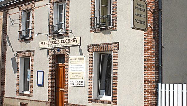 Photographie de Pompes Funèbres et Marbrerie Cochery de Courtalain