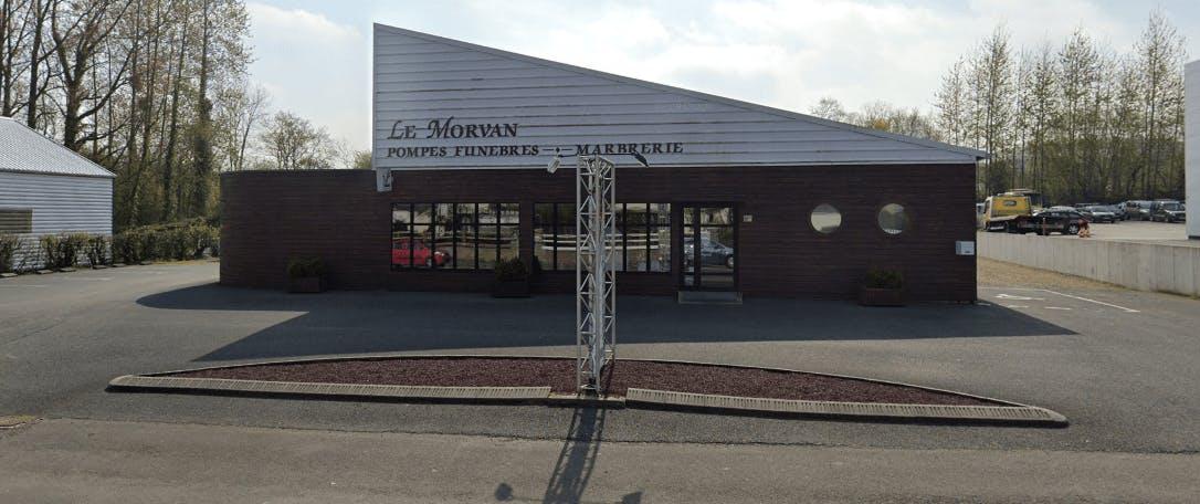 Photographie de la Pompes Funèbres Le Morvan à Plestin-les-Grèves
