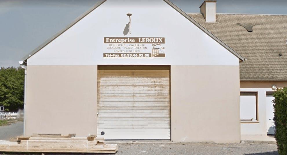 Photographie de la Pompes Funèbres Leroux à Roncey