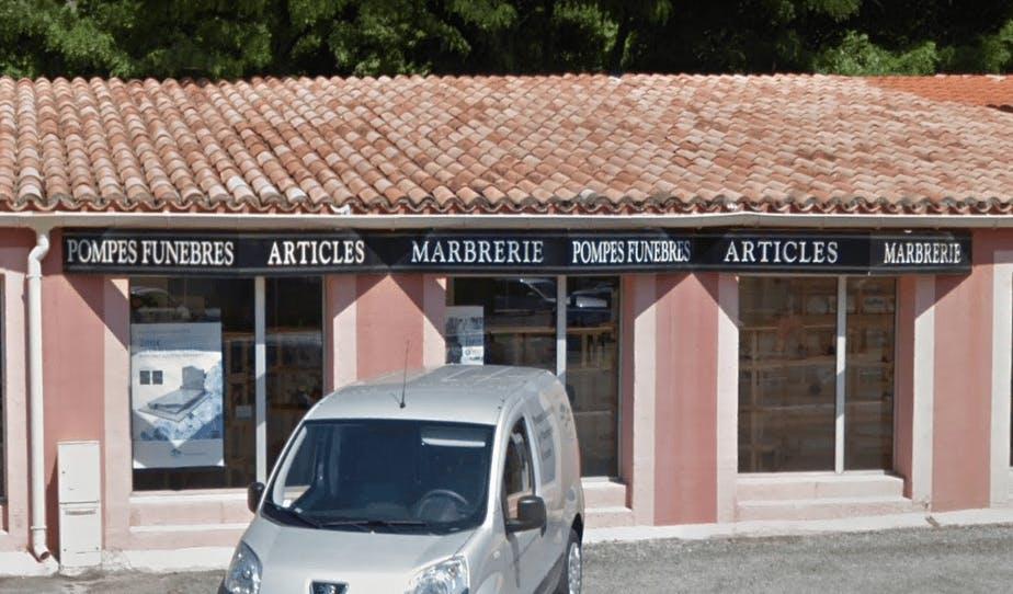 Photographie Pompes Funèbres et Marbrerie Cartier de Digne-les-Bains