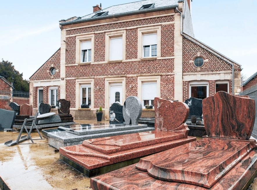 Photographie de la Pompes Funèbres Marbrerie Grenier Nicolas de la ville de Roye