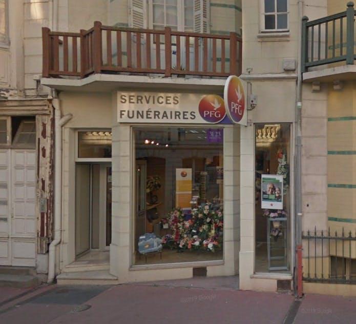 Photographies des Pompes Funèbres Générales à Trouville-sur-Mer