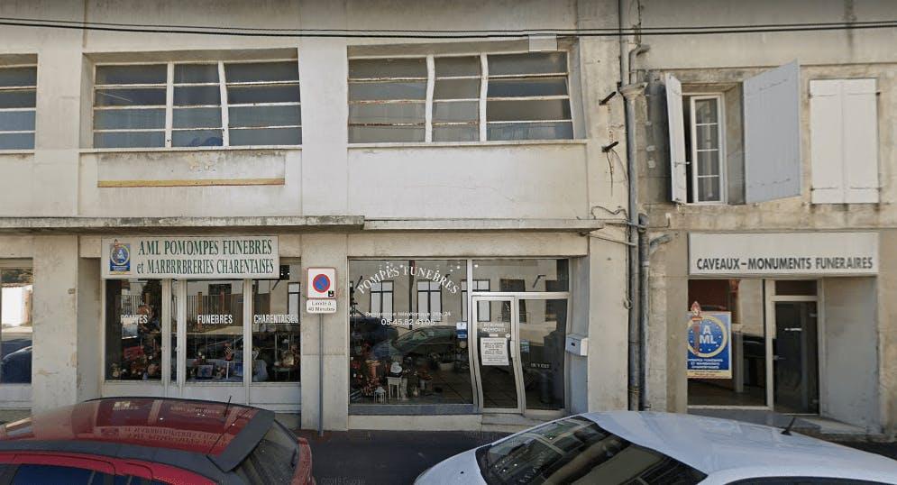Photographie AML Pompes Funèbres et Marbrerie Charentaises de Cognac