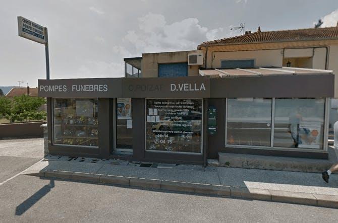 Photographie Pompes Funèbres Marbreries VELLA de Sarras
