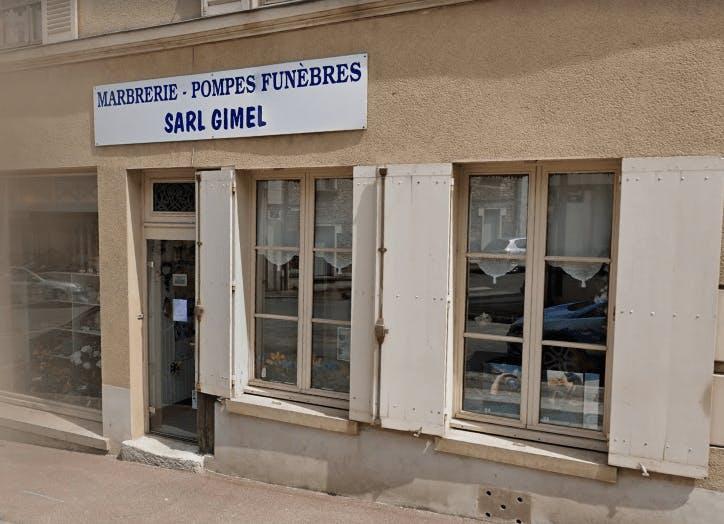 Photographie de la Marbrerie et Pompes Funèbres Gimel de la ville de Houdan
