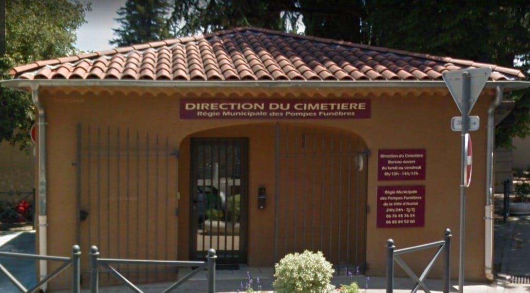Photographies des Pompes Funèbres Municipale à Auriol