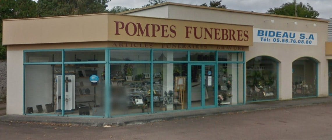 Photographie de Pompes Funèbres Bideau de Bessines-sur-Gartempe