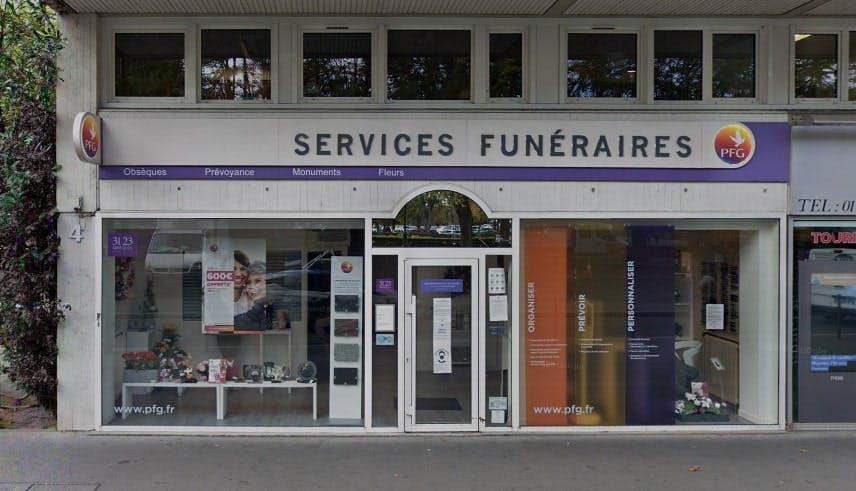 Photographies des Pompes Funèbres Genérales à Ivry-sur-Seine