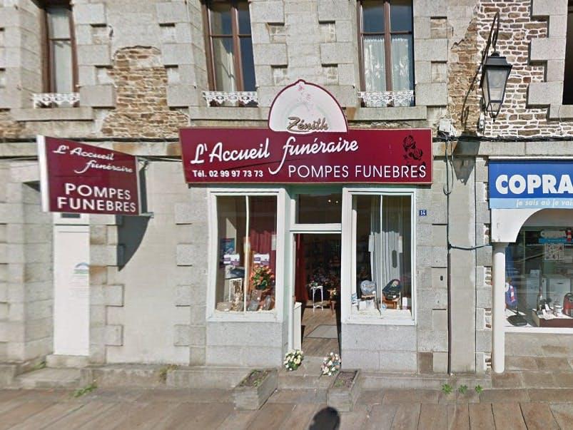 Photographies des Pompes Funèbres Amnulances Zenith à Val-Couesnon