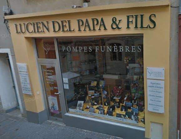 Photographie de la Pompes Funèbres Del Papa de la ville de Saint-Paul-Trois-Châteaux