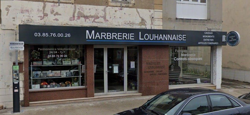 Photographie de la Marbrerie Louhannaise de Louhans