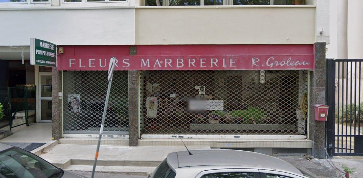 Photographies des Pompes Funèbres Marbrerie C. Groleau à Paris