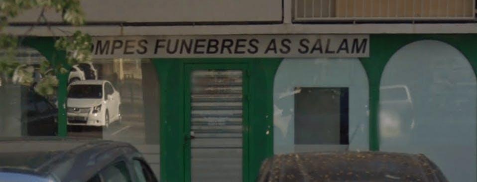 Photographie de la Pompes Funèbres Musulman As Salam de la ville de Valence