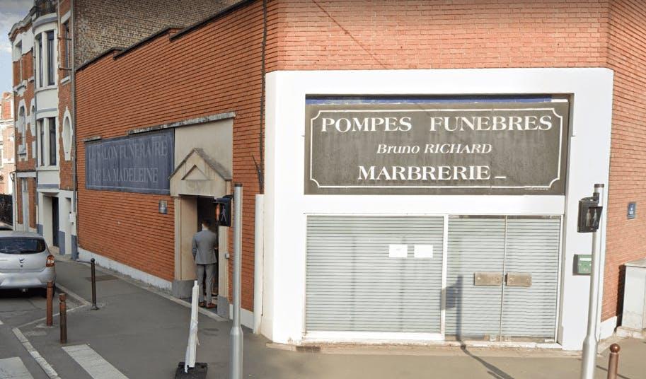 Photographie Pompes Funèbres RICHARD de la Madeleine