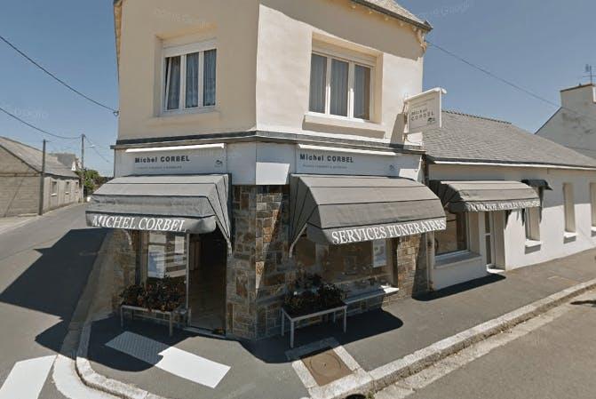 Photographie de la Pompes Funèbres et Marbrerie Michel Corbel à Guilvinec