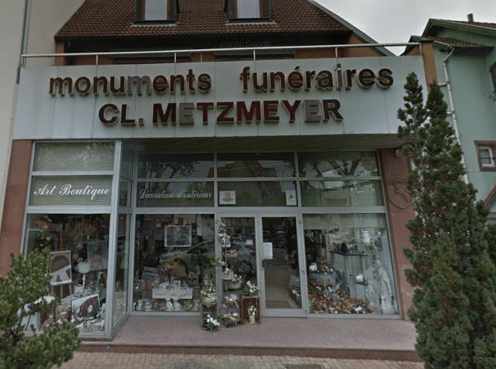 Photographie de la Marbrerie Claude METZMEYER de Saverne