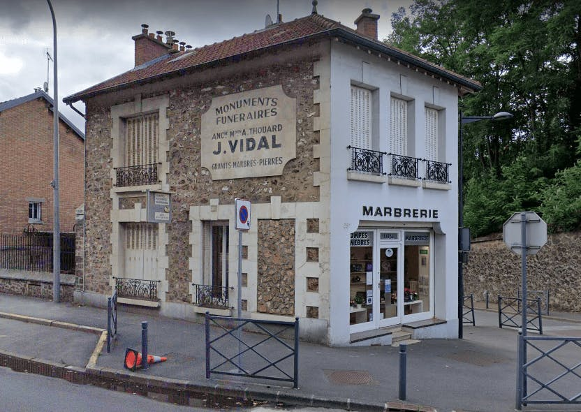 Photographie Pompes Funèbres et Marbrerie Jean Vidal Chaville
