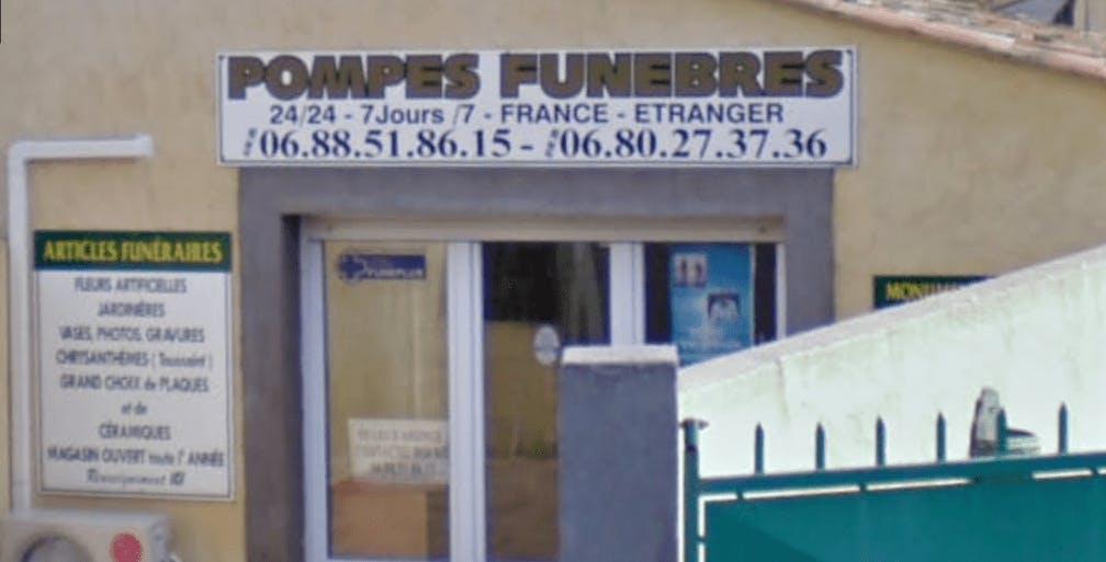 Photographie de la Pompes funèbres Agathoise Du Funéraire de la ville de Vias