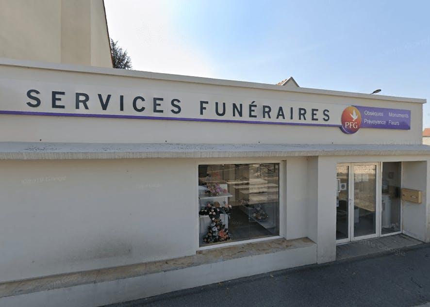 Photographie des Pompes Funèbres Générales de la Ville de Dammartin-en-Goële