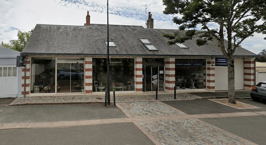 Photographie Pompes Funèbres Evin de Saint-Cyr-sur-Loire