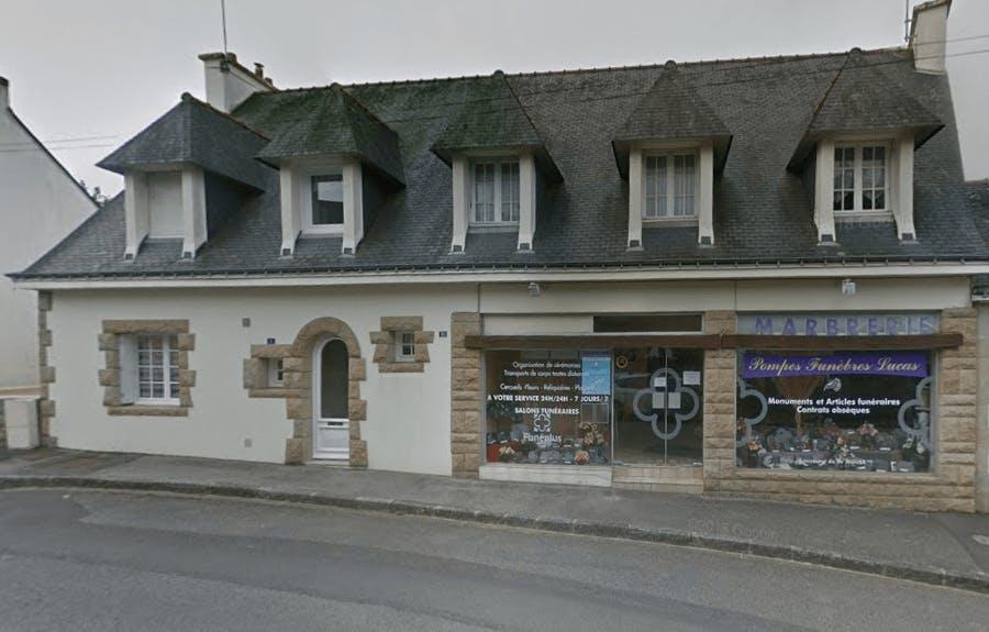 Photographie de la Pompes Funèbres Lucas de la ville de Gourin