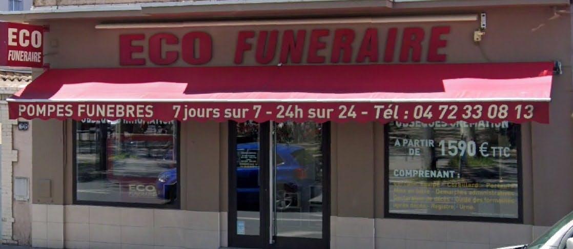 Photographie de l'Eco Funéraire