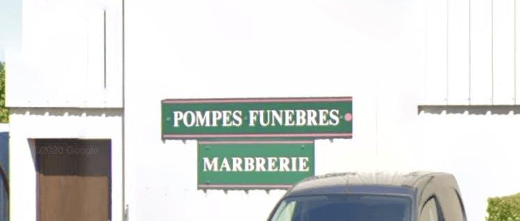Photographie de la Pompes Funèbres et Marbrerie Euréliennes de la ville de Pierres