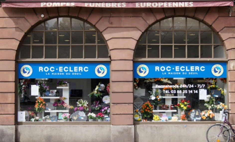Photographie de la Pompe Funèbre Roc Eclerc