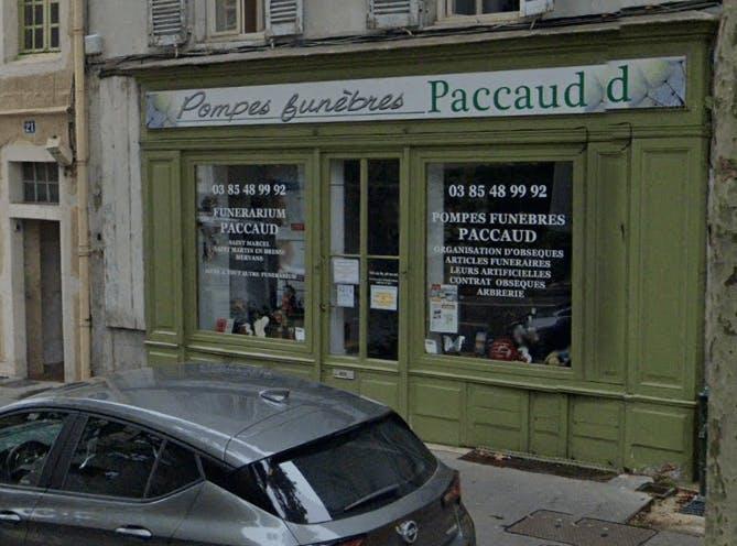 Photographie Pompes Funèbres PACCAUD Chalon-sur-Saône