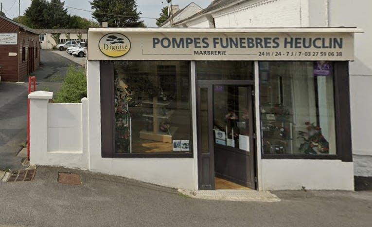 Photographie de la Pompes Funèbres et Marbrerie HEUCLIN -Dignité Funéraire de Felleries
