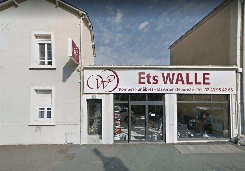 Photographie Pompes Funèbres Sablé sur Sarthe Ets Walle de Sablé-sur-Sarthe