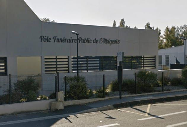 Photographie de la Pôle Funéraire Public de l'Albigeois